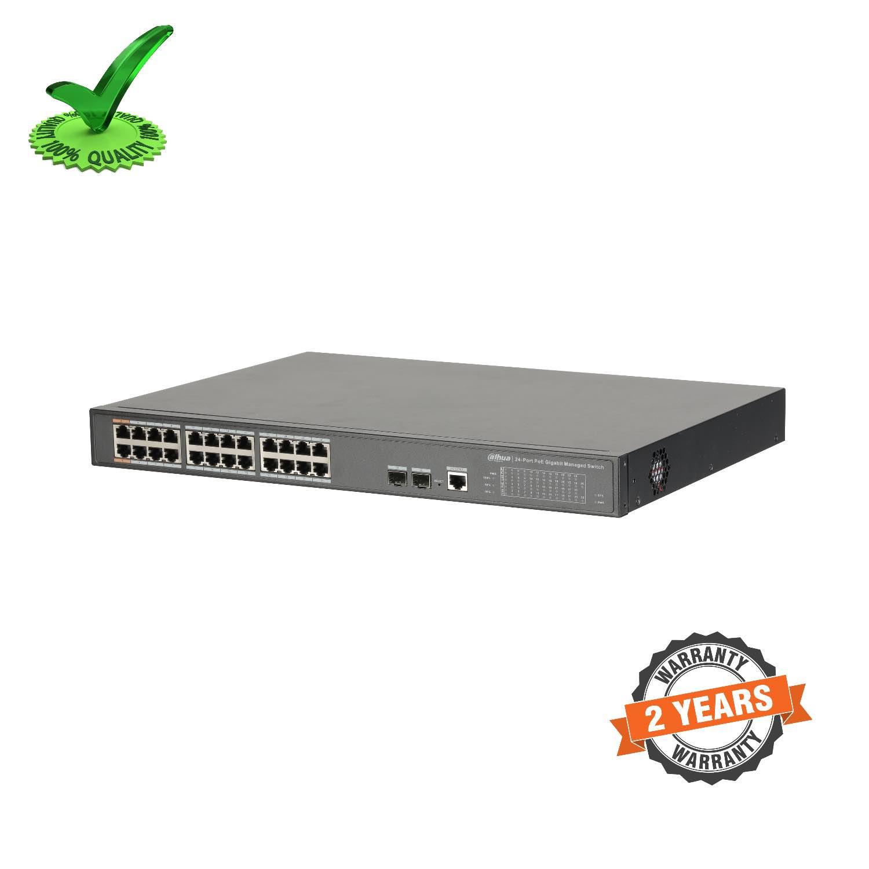 Dahua DH-PFS4226-24GT-240 24-Port PoE Gigabit Managed Switch