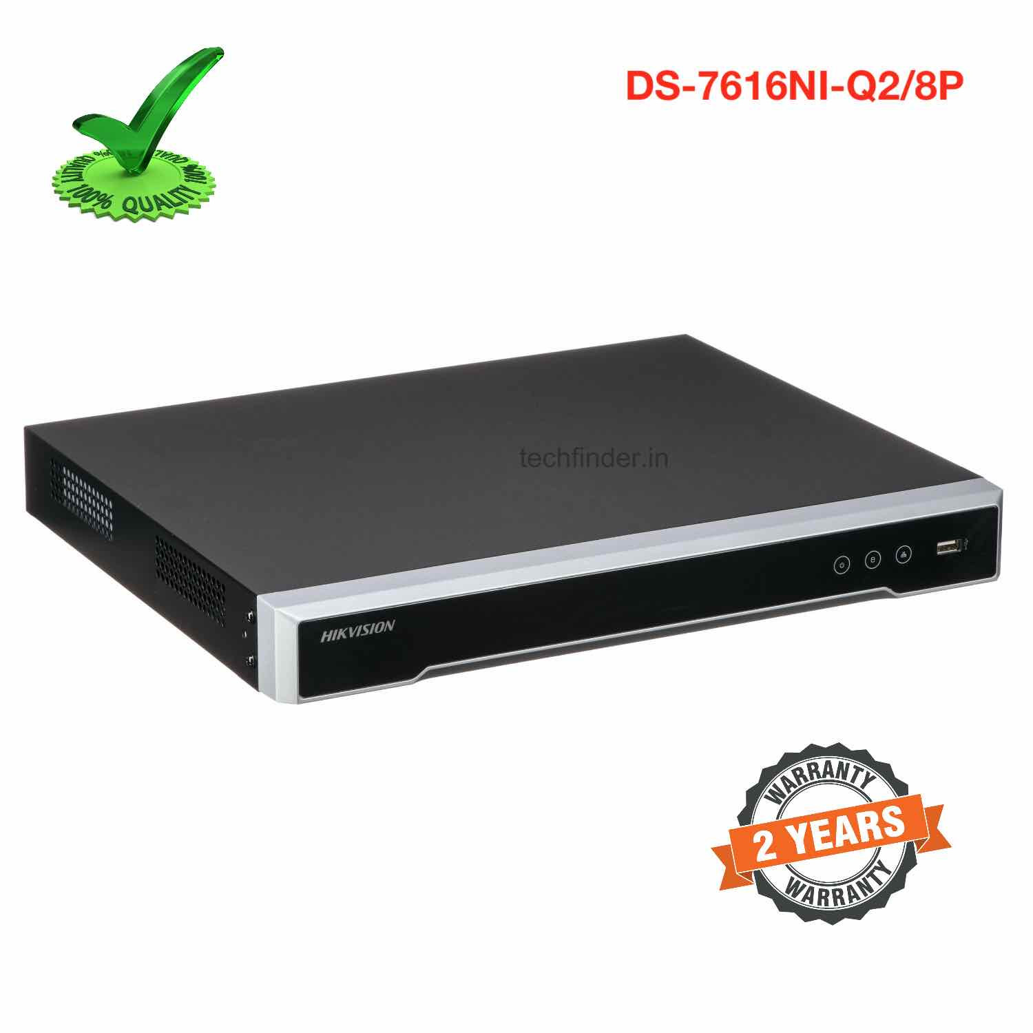 Hikvision DS-7616NI-Q2/16P 16ch Support POE 4k Nvr