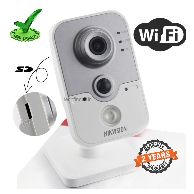 Hikvision DS-2CD141PF-I(W) 1mp Smart Wi-Fi Alarm Pro Cube Camera