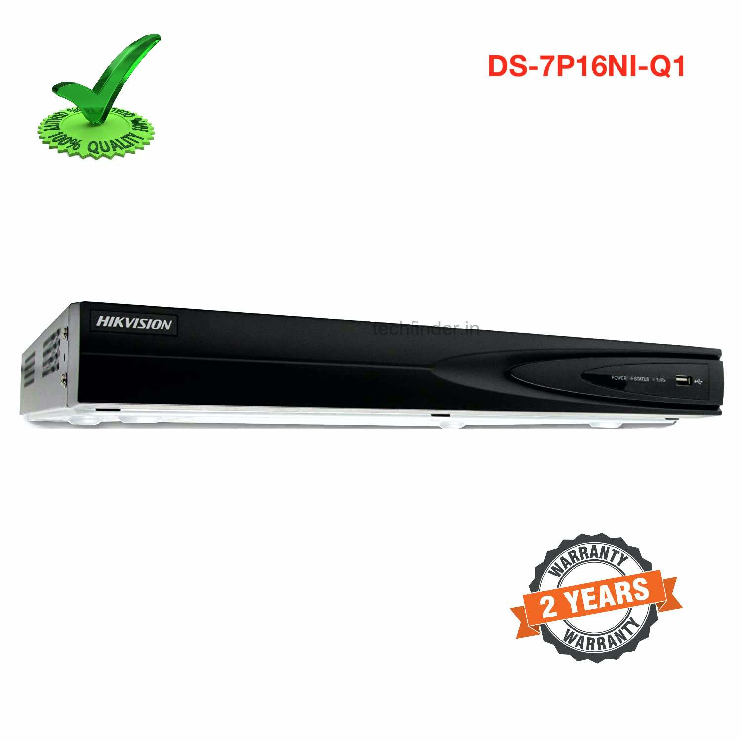 Hikvision DS-7P16NI-Q1 Hdmi 16ch Support 4k Nvr