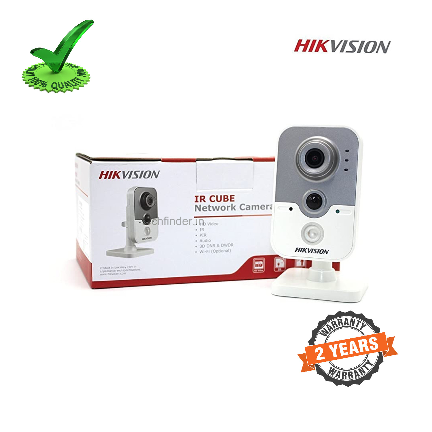 Hikvision DS-2CD2442FWD-IW 4megapixel Smart Wi-Fi Network Cube Camera