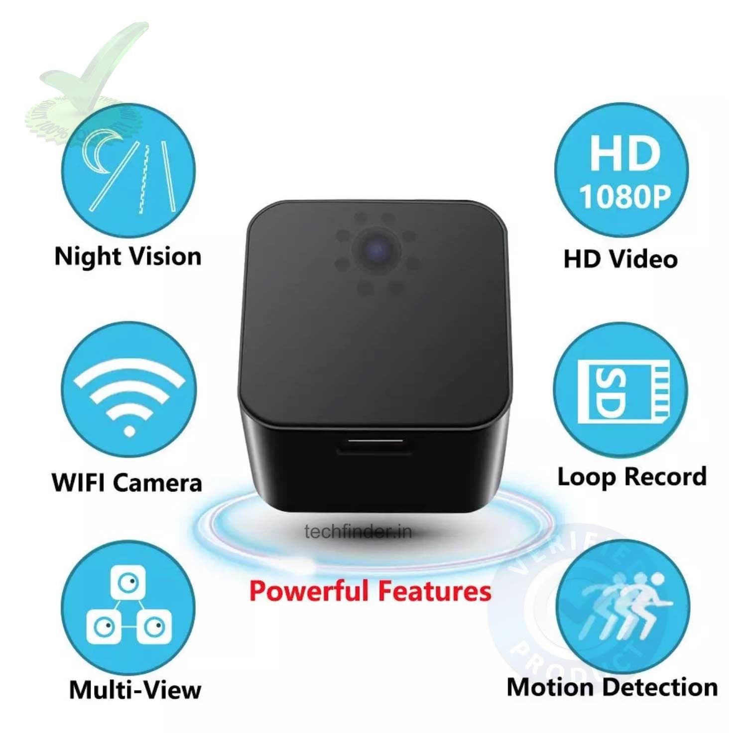 4k Wi-Fi Hidden Spy Camera with Recorder in Charging Adaptor