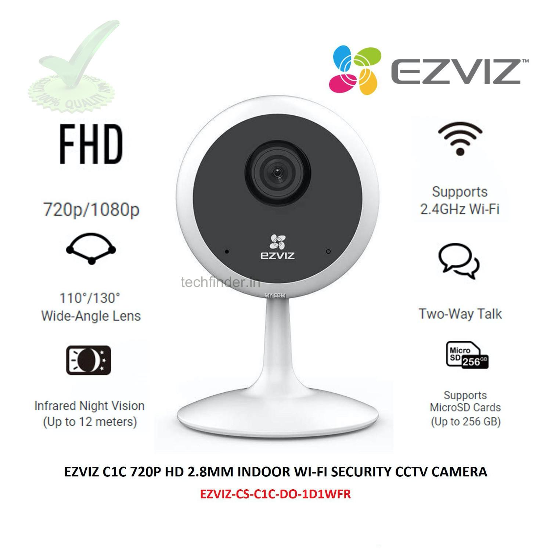 Hikvision Ezviz C1C 1080p HD Resolution Indoor Smart Wi-Fi Camera