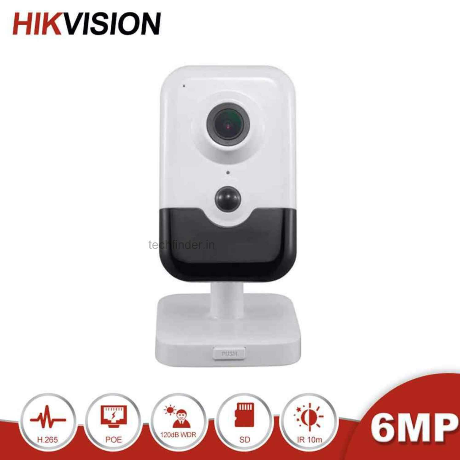 Hikvision DS-2CD2463G0-I(W) 6MP IR Smart Wi-Fi Fixed Cube Ip Camera