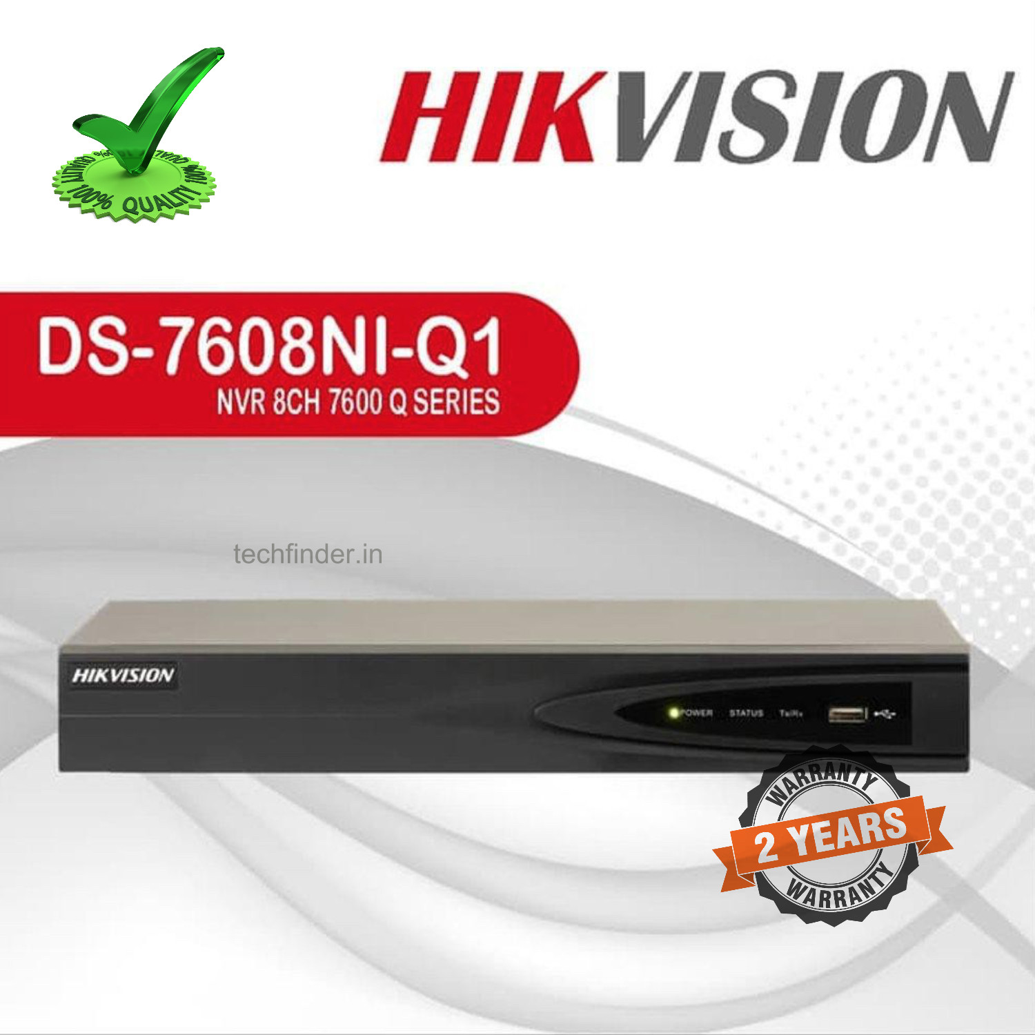 Hikvision DS-7608NI-Q1 Series 8ch support 4k Nvr