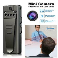 4K FHD High Resolution Wearable Mini Hidden Moveable Spy Camera