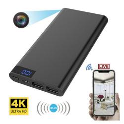 4k WiFi Hidden Spy Camera with Recorder in USB Power Bank
