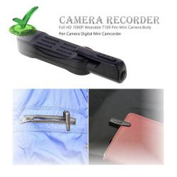 Wearable 4k Pen Spy Camera with Mini DVR