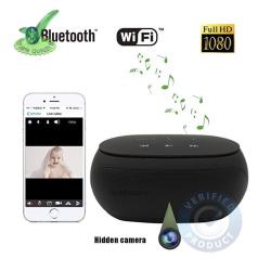 4k WiFi Spy Hidden Camera with Recording in Bluetooth Speaker